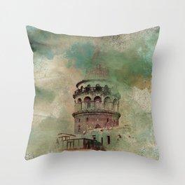 Big Tower Throw Pillow