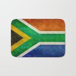 Flag of South Africa - Vintage Banner version Bath Mat