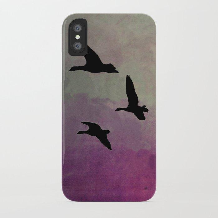 Goose Flight - JUSTART © iPhone Case