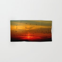 Sunrise in the moutains Hand & Bath Towel