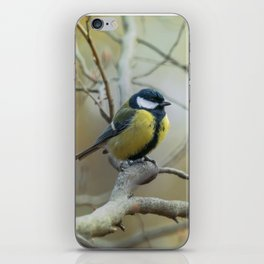 Waiting on the branch iPhone Skin