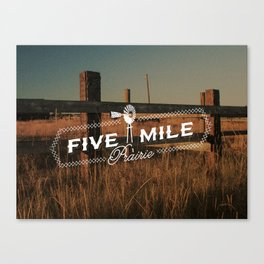 Five Mile Prairie Canvas Print