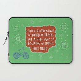 A New Way of Looking At Things Laptop Sleeve