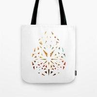 prism Tote Bags featuring Prism  by Tayler Kiiim