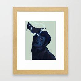 THE CLEANSING Framed Art Print