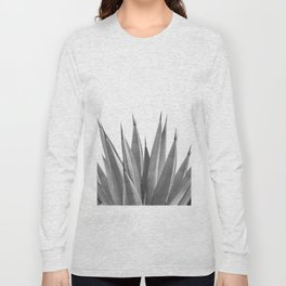 Gray Agave Dream #1 #tropical #decor #art #society6 Long Sleeve T-shirt