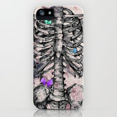 Roses and a Skeleton iPhone (5, 5s) Slim Case
