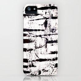 Zebra Abstract iPhone Case