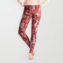 Together Strong - Women Power Coral Leggings