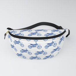 Sport motorcycle watercolor Fanny Pack