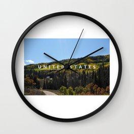 Unite the States Wall Clock