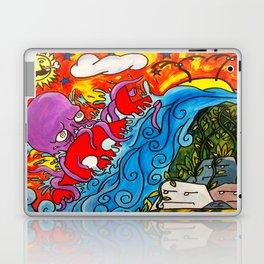 CRB vs The Greedy Octopus Laptop & iPad Skin