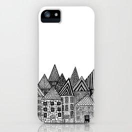 Medieval Village I iPhone Case
