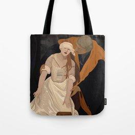 Lady Jane Grey illustration Tote Bag