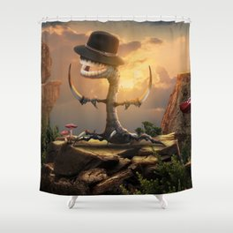 the root of the problem Shower Curtain