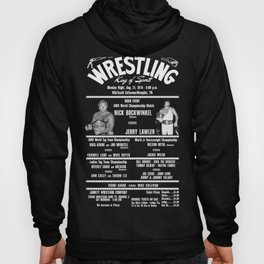 #3-B Memphis Wrestling Window Card Hoody