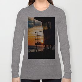 No Eclipse In Sight - Surf City September 27, 2015 Long Sleeve T-shirt