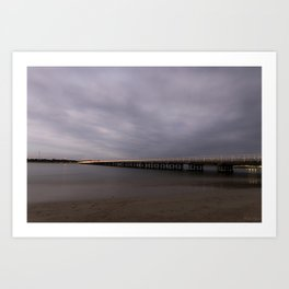Barwon Heads Bridge Art Print