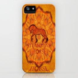 HORSE - Steampunk iPhone Case
