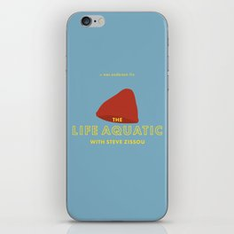The Life Aquatic with Steve Zissou Beanie Poster iPhone Skin