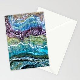 Emerald I - Sheer Fashion Stationery Cards