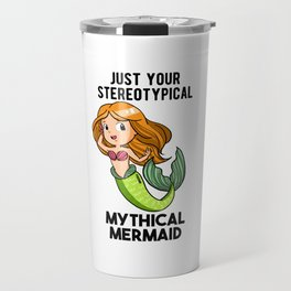 Mermaid girl Mermaid Gift Travel Mug