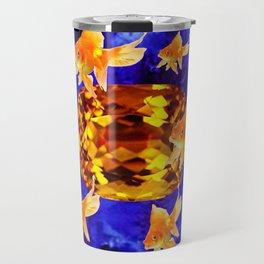 Surreal Goldfish Gems  Dreamscape Travel Mug