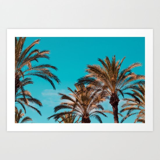 West coast, fresh coast Art Print