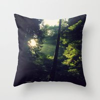 spiritual Throw Pillows featuring Spiritual by LilyMichael Photography