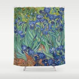 "Vincent Van Gogh ""Irises"" Shower Curtain"