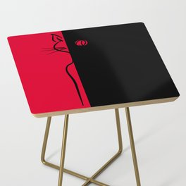 The Black Cat ~ From Sinners And Saints ~ Bohème Side Table