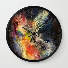 Deer constellation Wall Clock