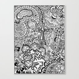 Calling Out Canvas Print
