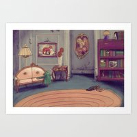 shabby chic Art Prints featuring Shabby Chic by Ben Geiger