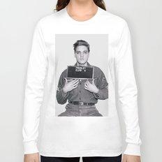 ELVIS PRESLEY - ARMY MUGSHOT Long Sleeve T-shirt