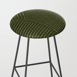 Lines (Olive Green) Bar Stool