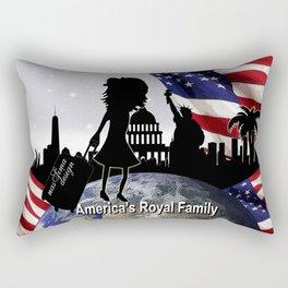 Americas Royal Family Rectangular Pillow