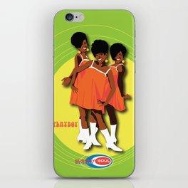 The Marvelettes Subway Soul iPhone Skin