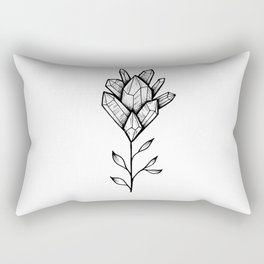 Crystal Flower Rectangular Pillow