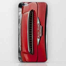 Little Red Sporty iPhone Skin