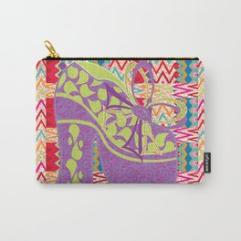 Purple Limelight Carry-All Pouch