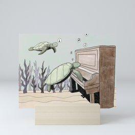 The Sunken Piano Mini Art Print