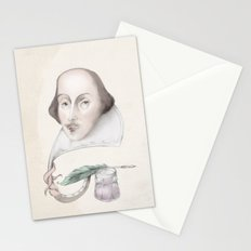 William Shakespeare Stationery Cards