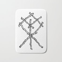 Rune Binding Bath Mat