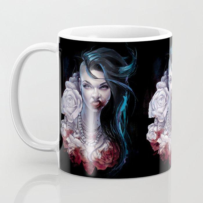 "Marceline  ""shades of red"" Coffee Mug"
