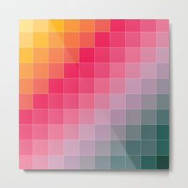 Color Palette Metal Print