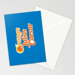 Orange Julius Caesar Stationery Cards