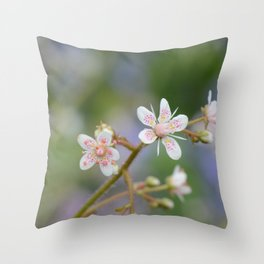 London Pride in Spring Throw Pillow