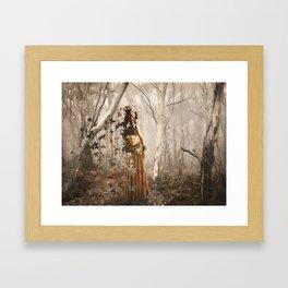 Forest's spirit Framed Art Print