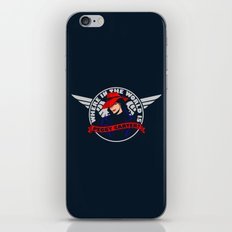 Where in the World is Peggy Carter? iPhone & iPod Skin